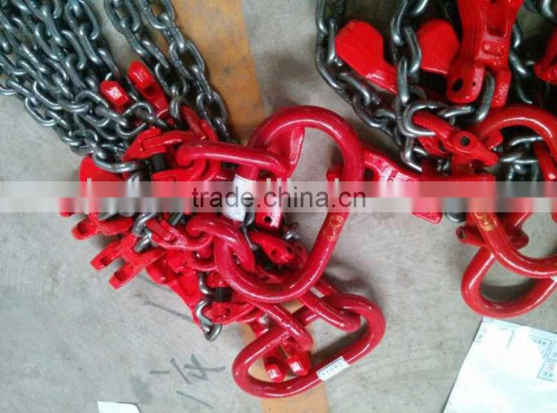 2 legs 12 meters 27.6 tons chain slings