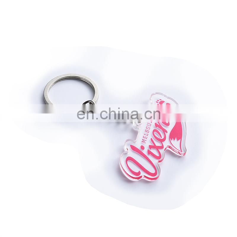 Custom light acrylic keychain wholesale