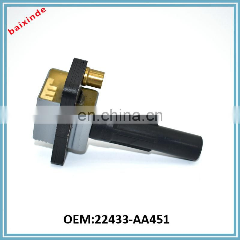 Baixinde brand Ignition Coil OEM 22433-AA460 for SUBARUs OUTBACK BAJA IMPREZA FORESTER C1479 Replacing Diamond Ignition Coil