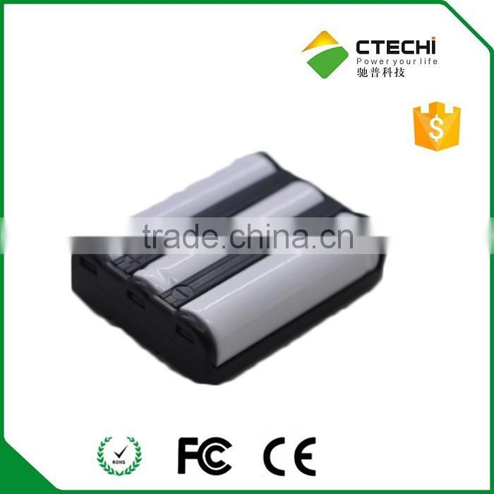 600mah 3.6v rechargeable nicd battery pack