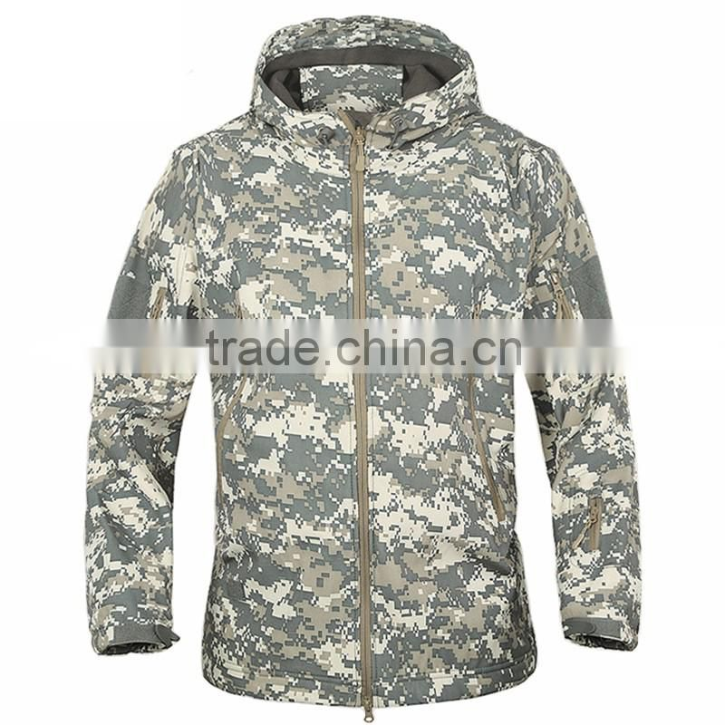 men outdoor military jacket softshell hunting clothing for winter, TAD V4.0 military uniform