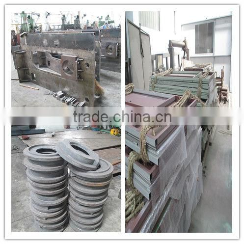 450*2850 for ss 1.6m Nonwoven fabric calender making machine