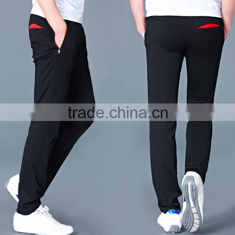 cheap price new style with zip boys pants and sweat pants and balloon fit pants for men