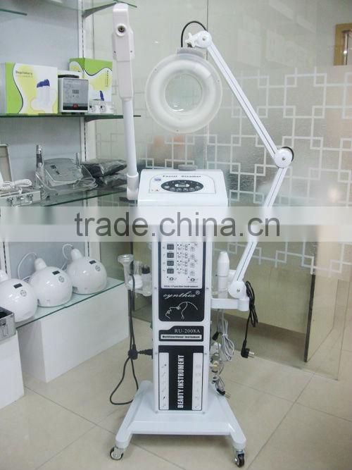 AU-2008A 16 in 1 wood lamp skin analyzer electric stimulation weight loss equipment