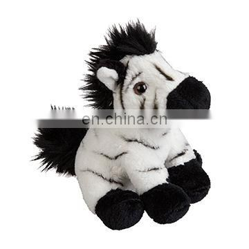 custom cute soft zebra plush stuffed animals