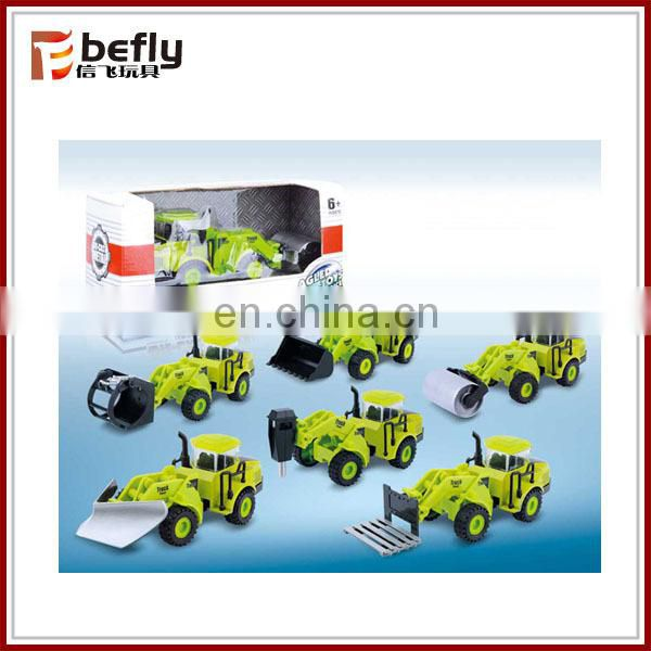 Farm pull back mini metal car