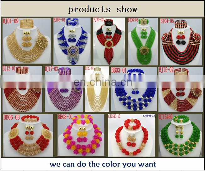 nigerian jewelry set wedding african beads jewelry set african fashion jewelry sets