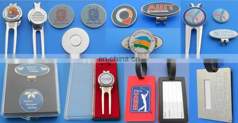 Custom logo cheap aluminum luggage name tag for promotional