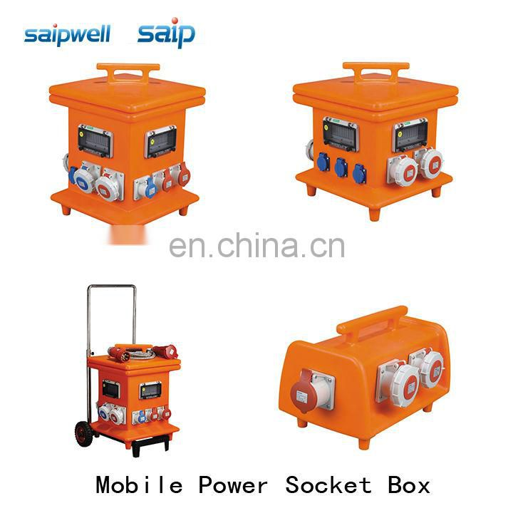 Mobie power outlet box
