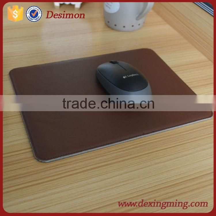 pu leather mouse pad,computer mousepad leather,mouse mat shenzhen