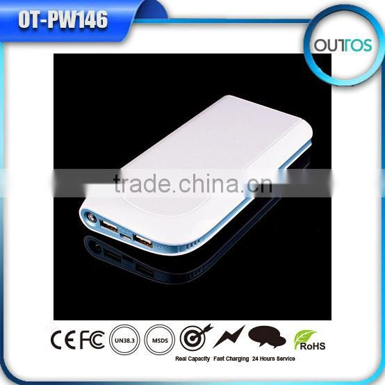 Super fast mobile phone excellent quality real capacity power bank 17600mah