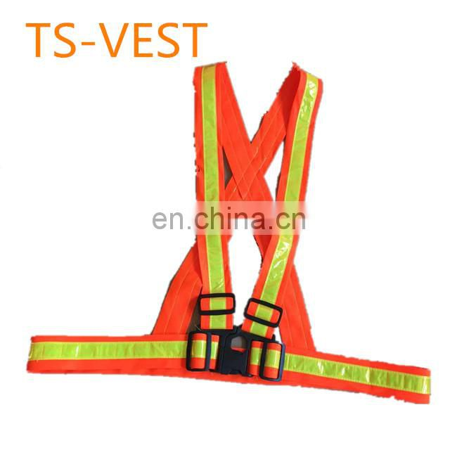 knitted fabric Ribbon vest