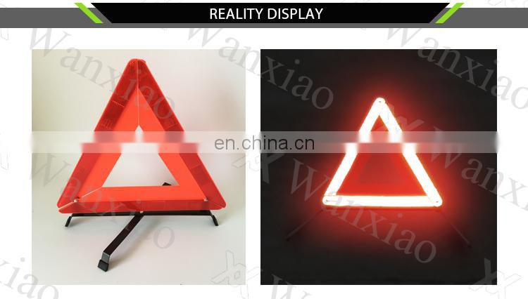 Reflecting Floding Warning Triangle For Car Security