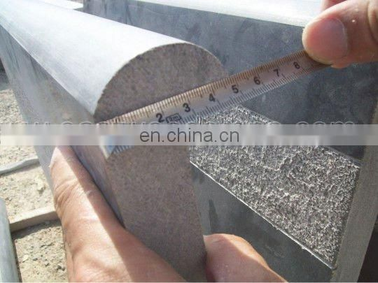 limestone coping with anti-slip liner