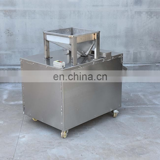 large capacity different size peanut slicer machine
