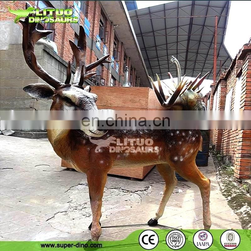 Chrismas Decoration Animatronic Animals Reindeer Model Exhibition