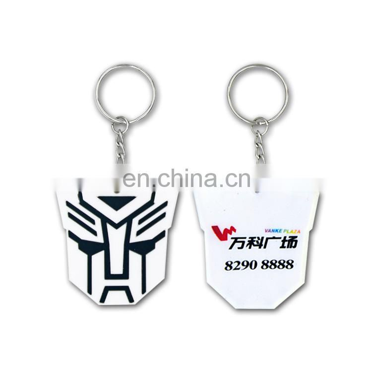 custom design 3d rubber pair keychains 3d custom shaped keychain