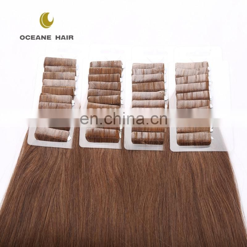 wholesale tape in hair extension china hair factory