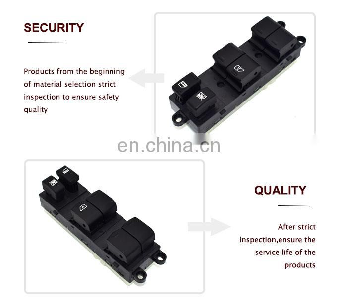 Car Replacement parts Power Window Switch 25401-EA003 For Nissan Xterra 2005-2007