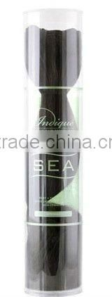 plastic packaging for hair extensions,plastic clear plastic tube packaging for weave hair extension