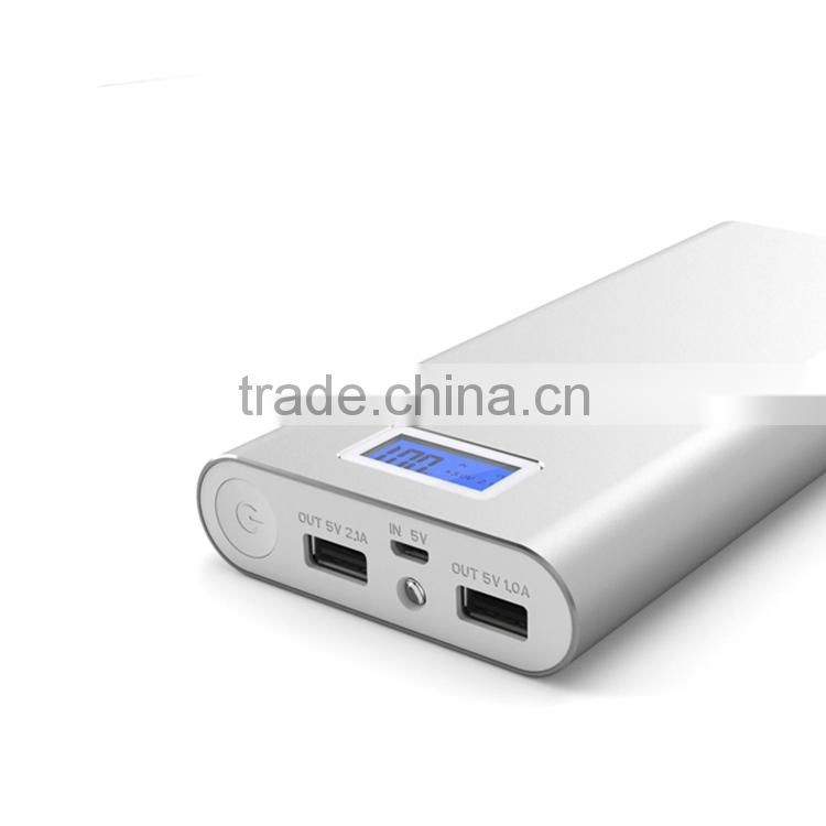Most powerful power bank 16000mah for iphone samsung
