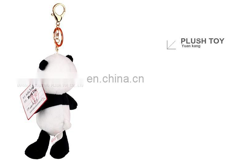 panda bear stuffed animals keychain