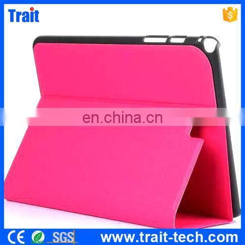 Made Of High Quality Smart Wake Up Sleep Leater Flip Cover Case For Tablet