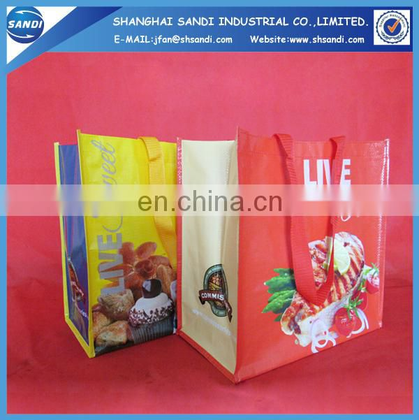 High quality fasion polypropylene shopping bag