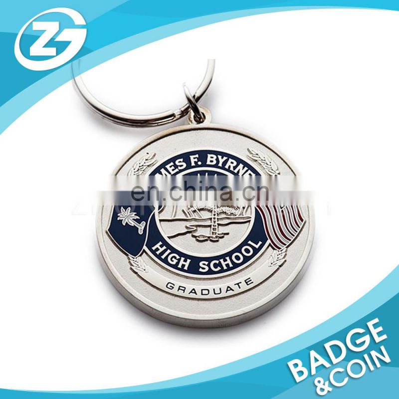 OEM Custom Cheap Promotional Fashionable Gift Colored Silver Coin