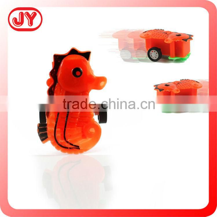 Pull back plastic toy mini motorcycle with EN71
