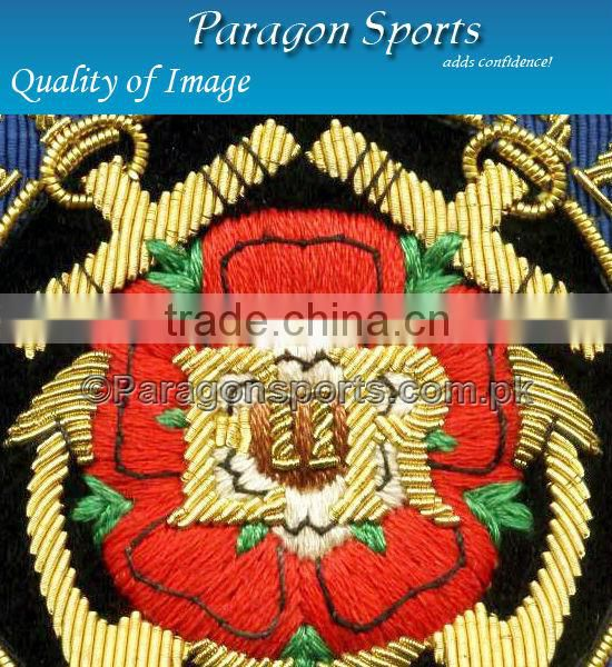 Squadron Royal Air Force Bullion Hic ET Ubique Badge Handmade Embroidered Air Force Badges
