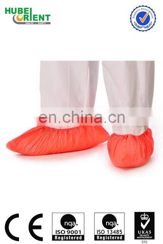 Medical disposable plastic CPE shoe covers