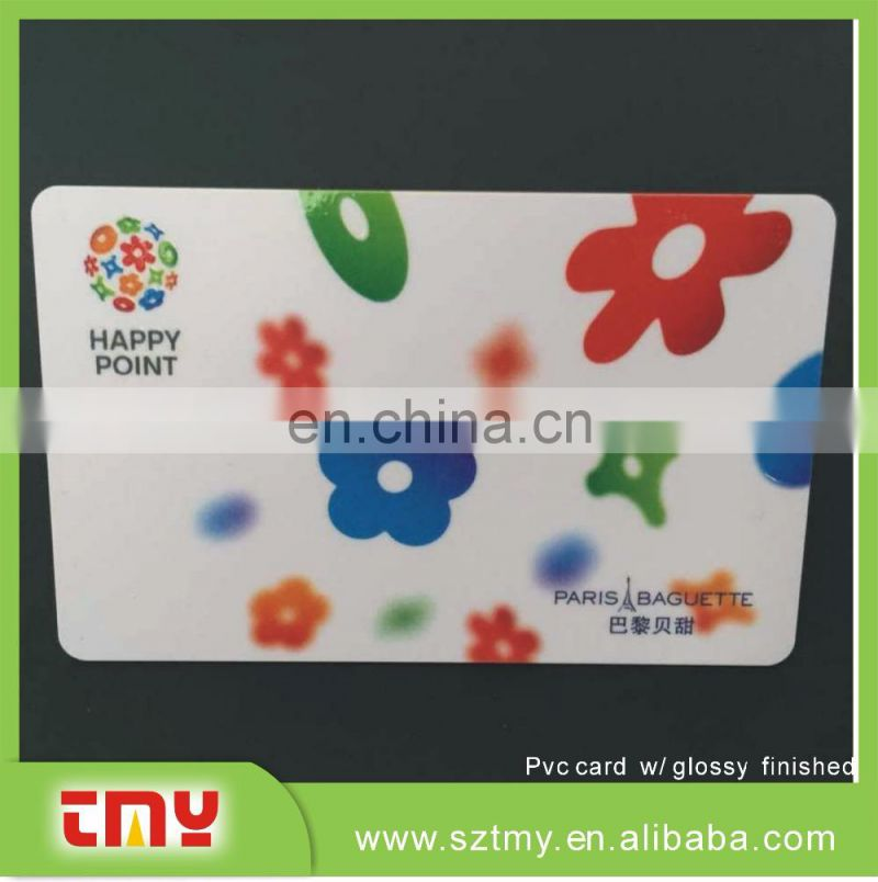 4 Color printing plastic PVC Business Card