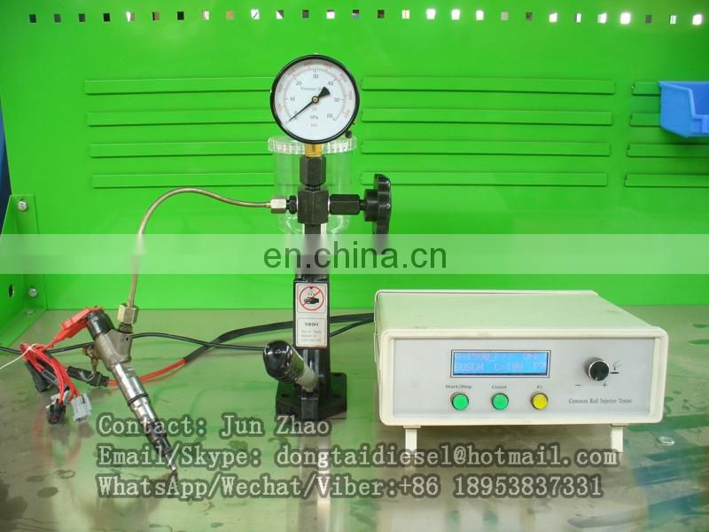 common rail injector tester simulator/piezo injector testerCR1000