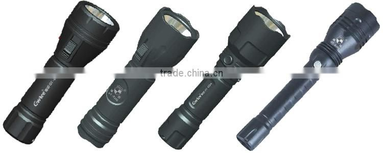 2W led flashlight torch, rechargeable flashlight, LED torch