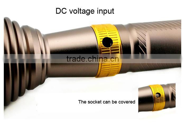 GOREAD Y1 High bright direct charge t6 led flashlight