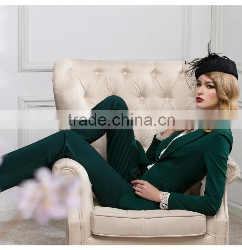 Women Suits Coat And Pants, Black Formal Business Women Blazer