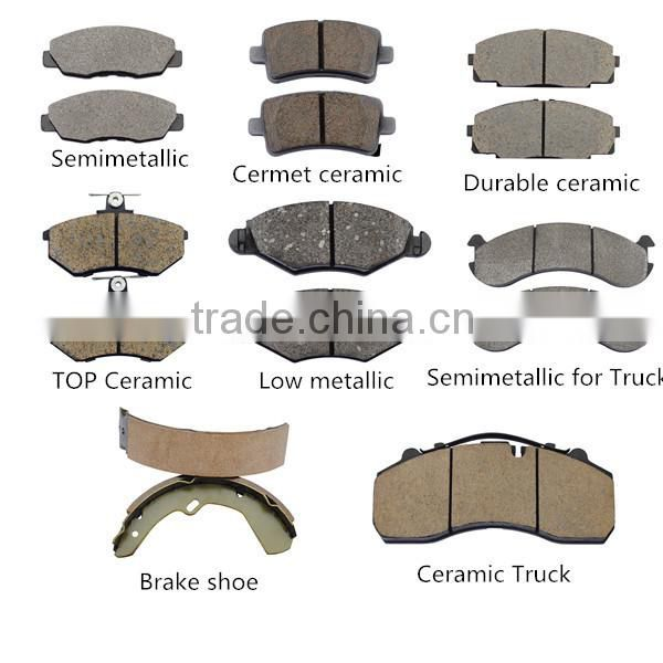D766 OE 0K2A2-33-23Z for KIA fronts disc brake pad