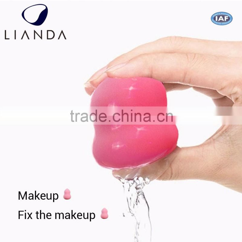 Certified skin-friendly size customizable blender sponge with fast delivery