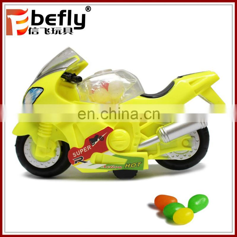 2017 plastic friction cars candy toy with candy