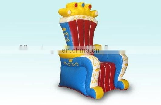 2012 inflatable king chair