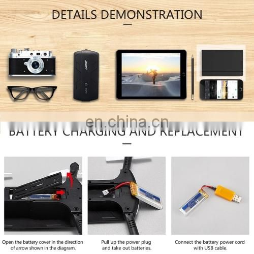 WiFi Control Mini Foldable Quadcopter with 0.3MP Camera