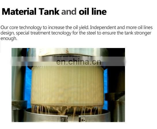 6YY ISO certification high quality  oil making machine olive cold press oil machine