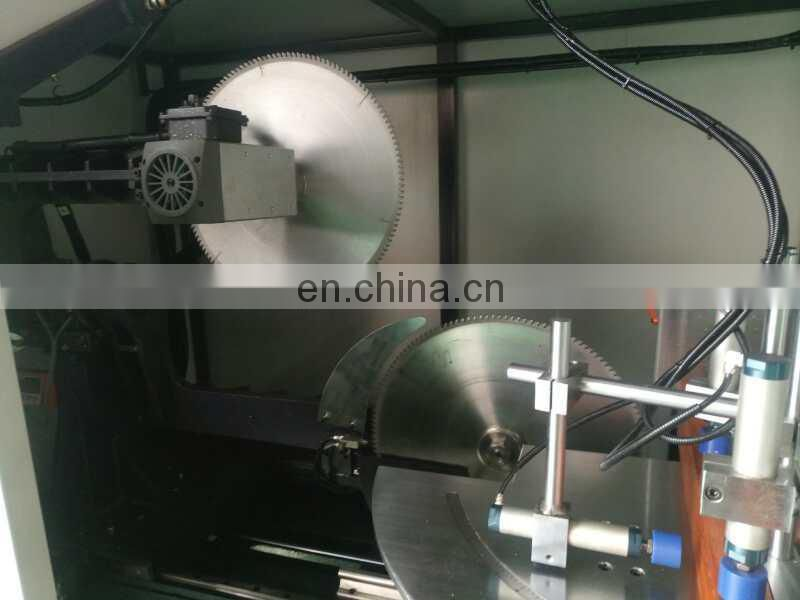 Chinese supplier aluminum curtain wall interface cutting saw