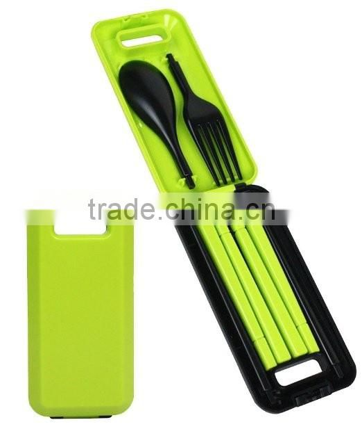 China supplier lead free promotional hot sale plastic Kitchenware Kid's Flatware Sets
