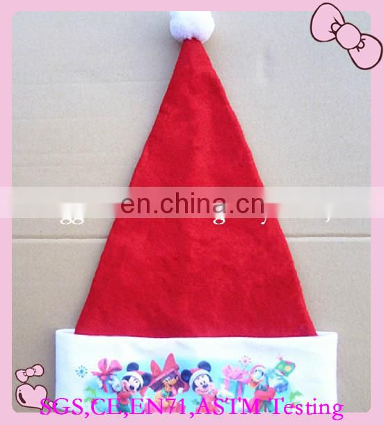 wholesale funny christmas hats furry christmas plush hat