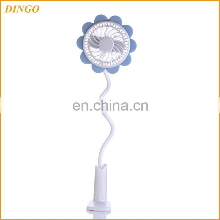 Good quality colorful portable rechargeable mini usb fan