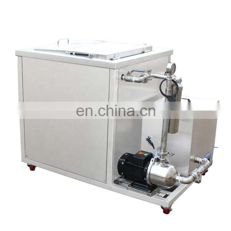 40KHz 360L Oil Filter System Ultrasonic Cleaning Machines DPF With CE Image