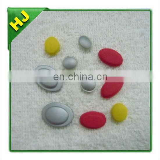 White Push Button Silicone