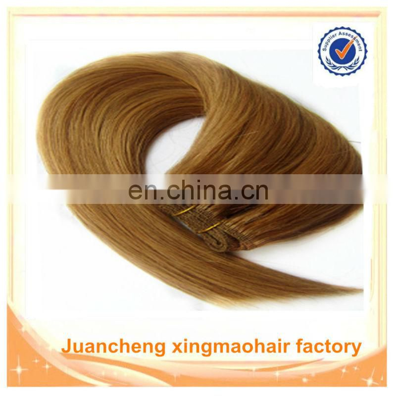 Wholesale High Quality No Tangle No Shedding Remy Hair Weft Brazilian Hair Color 4